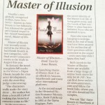 Master of Illusion Book Two in the North West Magazine