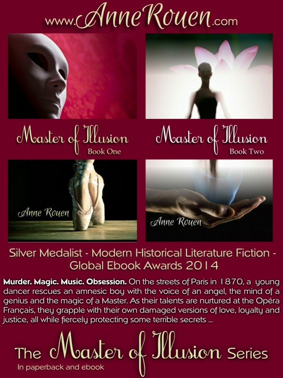 Master of Illusion Giveaway on Goodreads